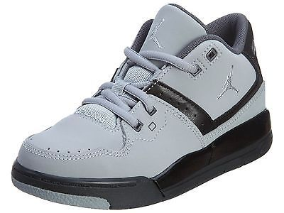 62f7b47ba34f Nike Jordan Flight 23 Ps Little Kids 317822-012 Grey Black Shoes Youth Size  1.5
