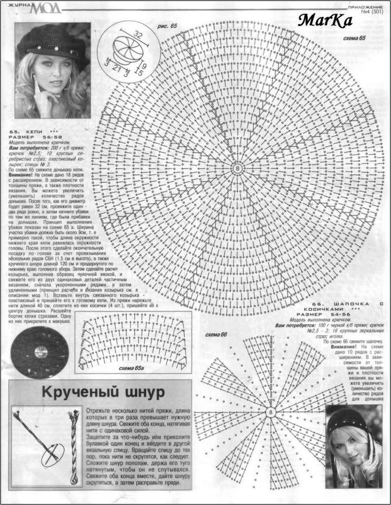 diagrama | Cosas de grandes | Pinterest | Croché, Boinas y Ganchillo ...