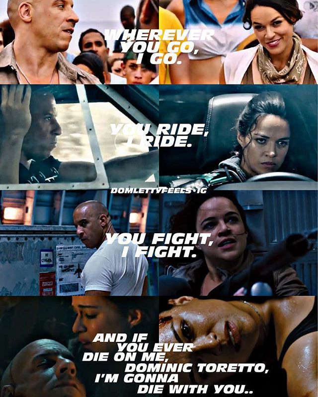 I Vow Wherever You Go I Go You Ride I Ride You Fight I Fight And If You Ever Die O Fast And Furious Memes Fast And Furious Actors Fast And
