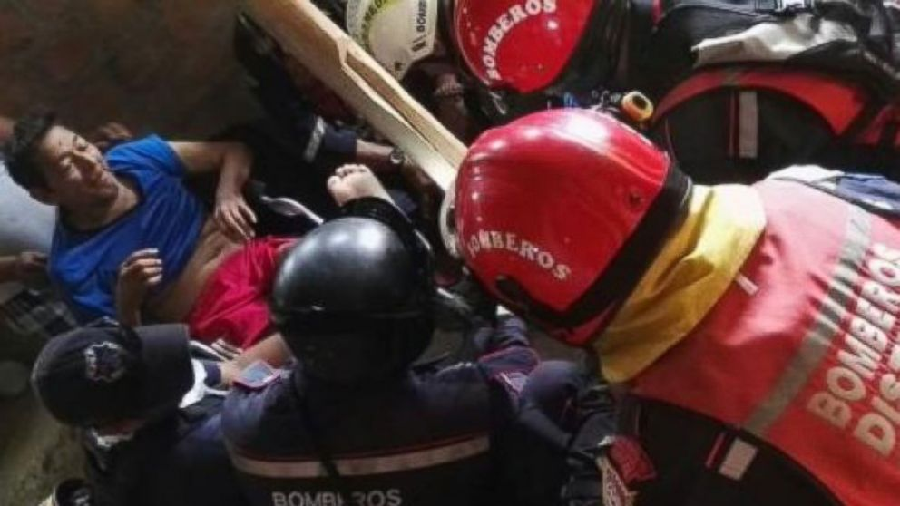 A great WTF!! Rescuers Pull 72-Year-Old Man From Rubble 13 Days After Ecuador Earthquake - ABC News