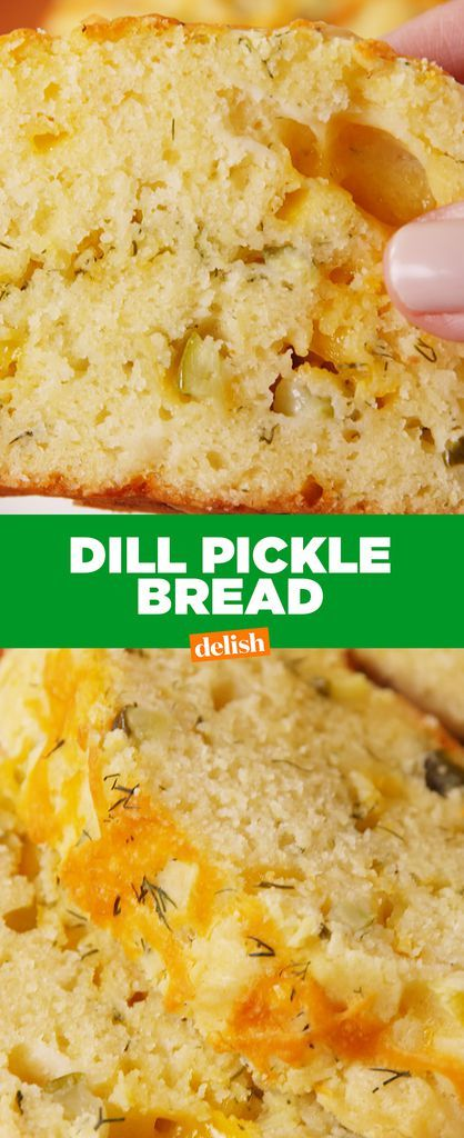 This Dill Pickle Bread Tastes Like An Upgraded Version Of Cheddar Bay BiscuitsDelish