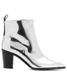 Acne Studios - Loma metallic leather ankle boots - mytheresa.com GmbH