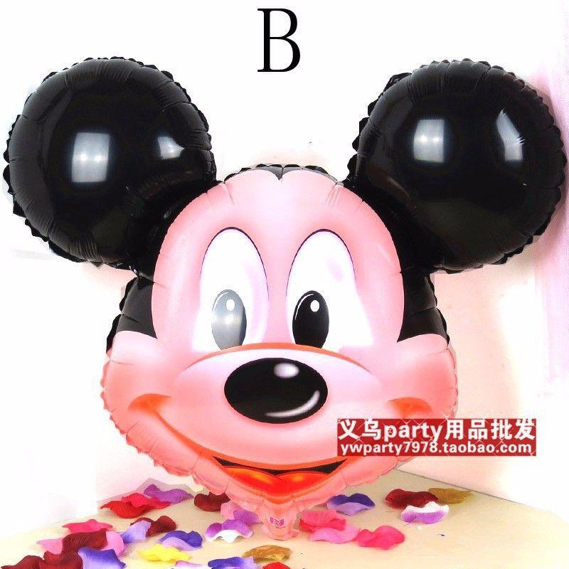 2 pcs/lote Minnie Mouse thème de la fête décoration ballons. Fête de ...
