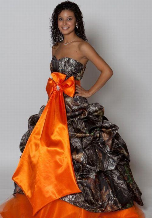 Camo Prom Dresses Long