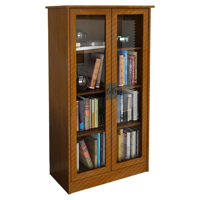Oak Bookcases With Glass Doors Ideas On Foter Bookcase With Glass Doors Wood Bookcase Metal Bookcase Wood bookcase with glass doors