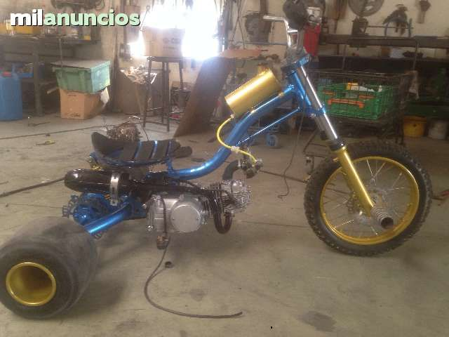 how to build a drift trike with motor