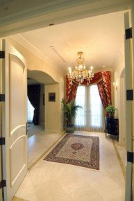 Double Door Entrance Into The Foyer Of The Master Suite I Think