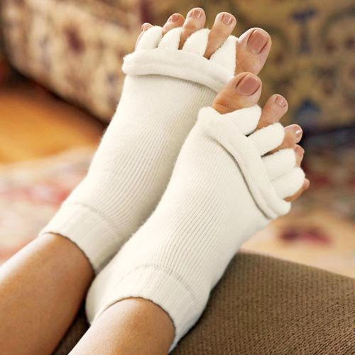 Yoga Shoes For Arthritis: 2 Pairs Of Foot Alignment Socks