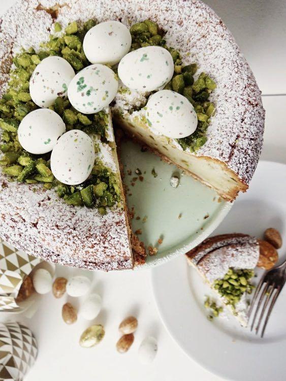 DIY tutorial: Pistachio Lime Cheesecake Recipe  via en.DaWanda.com