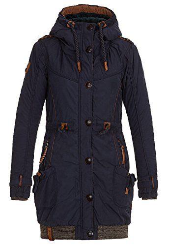 Naketano Becky Pupst Female Jacket Dark Blue S | Manteaux et