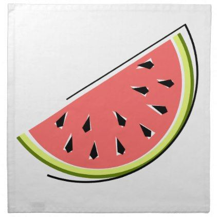 #stylish - #Watermelon Slice  napkins cloth