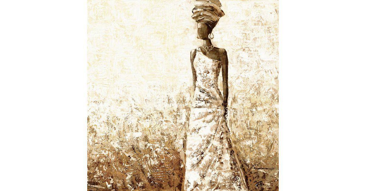 Wandfolie »Frolova: Afrikanische Frau« #afrikanischefrauen