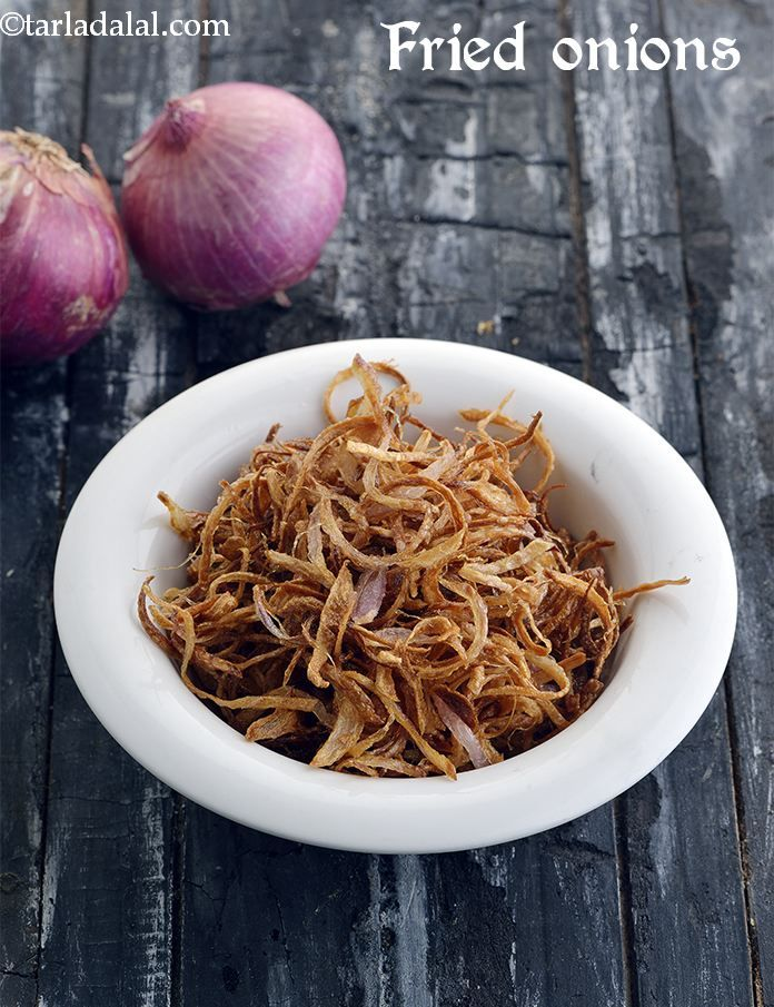 Fried Onions, How To Make Fried Onions #howtofryonions
