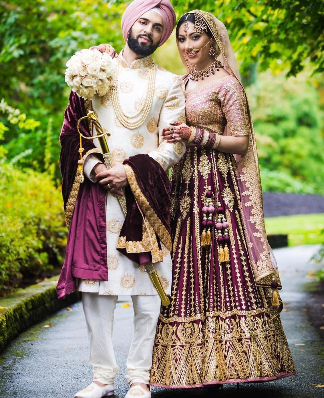 Instagram Couple Wedding Dress Indian Wedding Outfits Punjabi Wedding Couple,Wedding Dress Designers