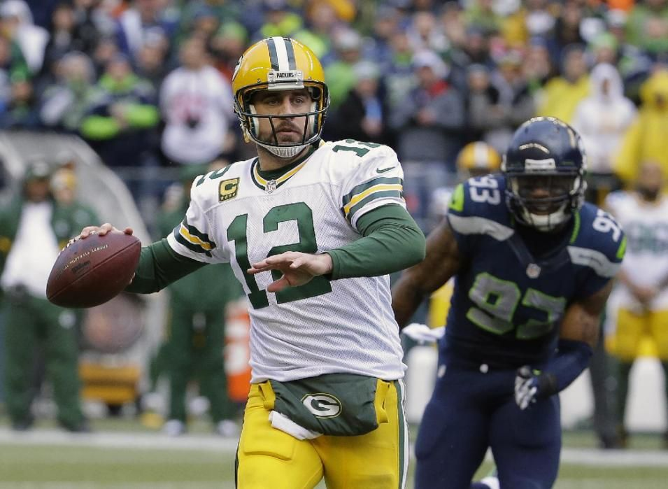QB Aaron Rodgers from Cal was in the discussion along with