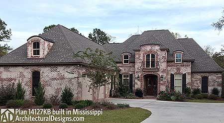 Architectural Designs Acadian Style House Plan 14127kb Client Built In Mississippi More Photos Outside