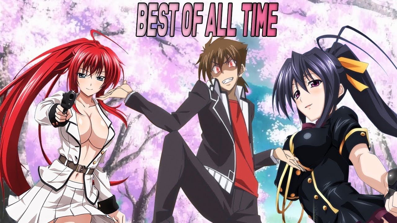 High School DxD The Best Harem Anime Ever Made YouTube