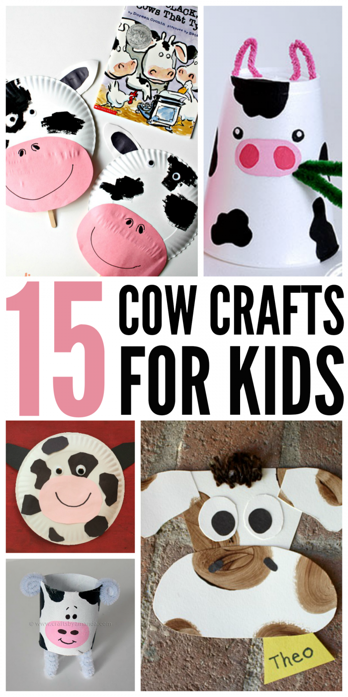 15 Cow Crafts for Kids: Keep Them Moo-ving | Cow craft, Cow and Craft