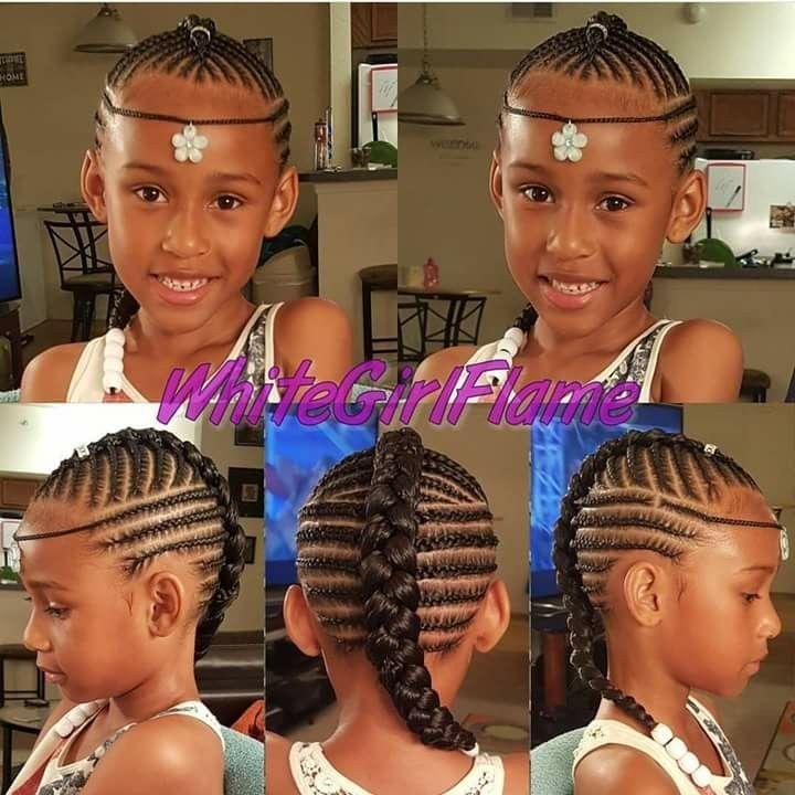 Minus The One Around Girls Hairstyles Braids Kids