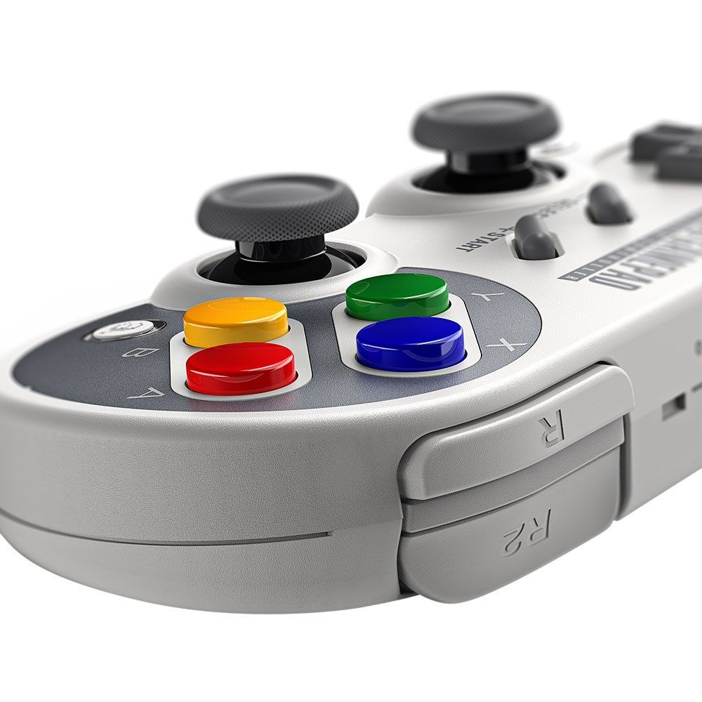 8Bitdo SF30 Pro,Wireless Bluetooth Controller with Classic