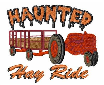 Haunted Hay Ride Embroidery Design Annthegran Free Embroidery