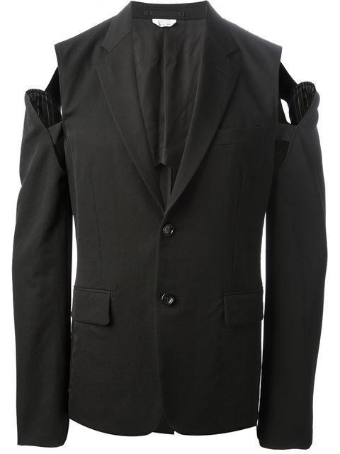 c63c5704afc Comme Des Garçons Homme Plus Open Shoulder Jacket - House Of Liza -  Farfetch.com