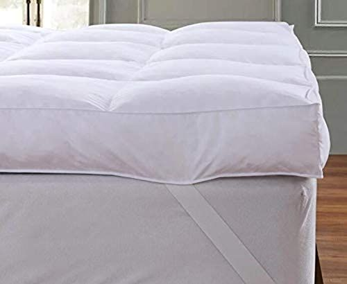 Buy Queen Rose Mattress Topper Pillow Top Plush Pillow Top Mattress Pad Cover Bed Mattress Topper Hotel Quality Down