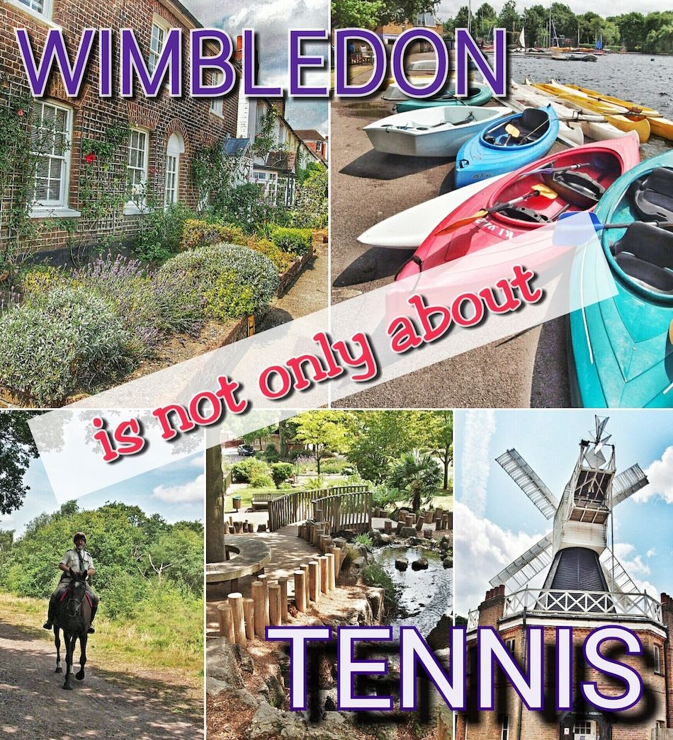 Discover Wimbledon and you'll see why it is not only about tennis. Take a walk around the borough!   London   UK