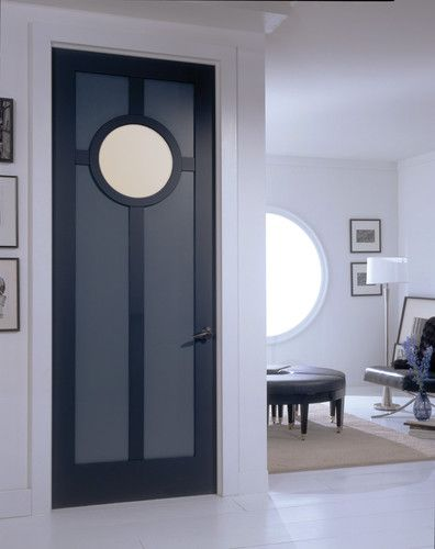LOVE This Door And The Round Window; Art Deco Door   Modern   Interior Doors      By TruStile Doors