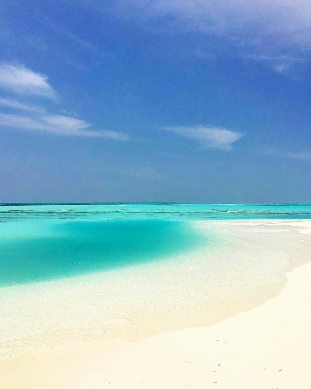 Tropical Beach And Peaceful Ocean: Kanuhura #Maldives Peaceful, Lovely & Relaxing Ocean, Sea