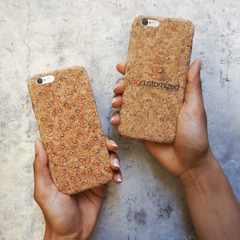 Go-Customized your cork phone case right now! ;) Available for iPhone 6 at https://www.gocustomized.co.uk/personalised-iphone-6-cork-case.html