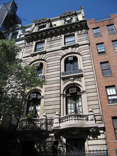 """The Nanny"" Mansion: 7 East 75th Street (via En.wikipedia"