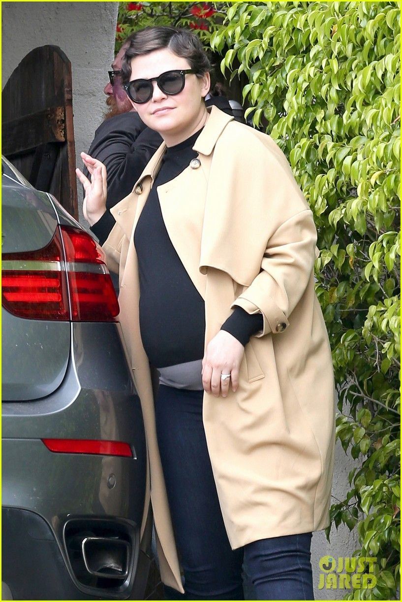 Pregnant Ginnifer Goodwin Steps Out with Wedding Ring Husband Josh