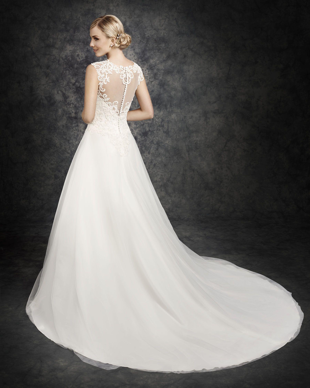 Ella Rosa Style BE314 #bridal #weddingdress