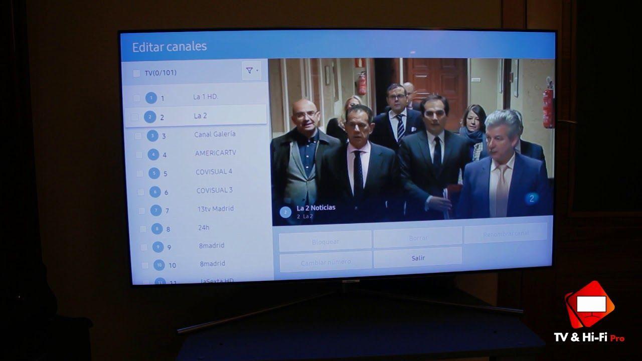 Como Ordenar Canales En Tv Samsung Smart Tv 2017 Smart Tv Tv Samsung