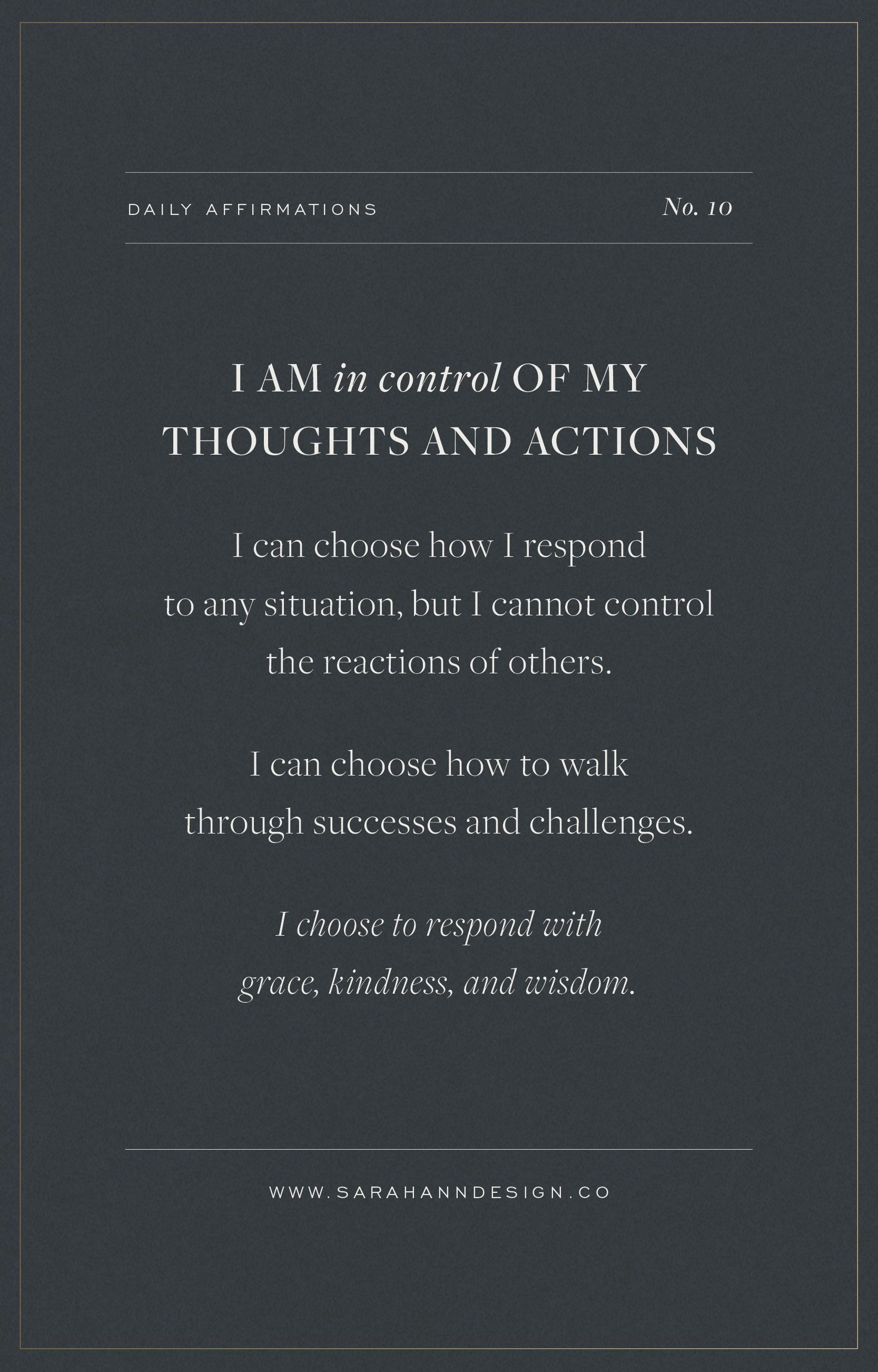 23 Daily Affirmations for Creatives | Sarah Ann Design