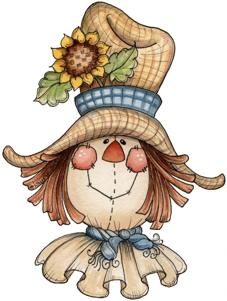 Scarecrow Donna Dewberry Painting Projects Pinterest Herbst