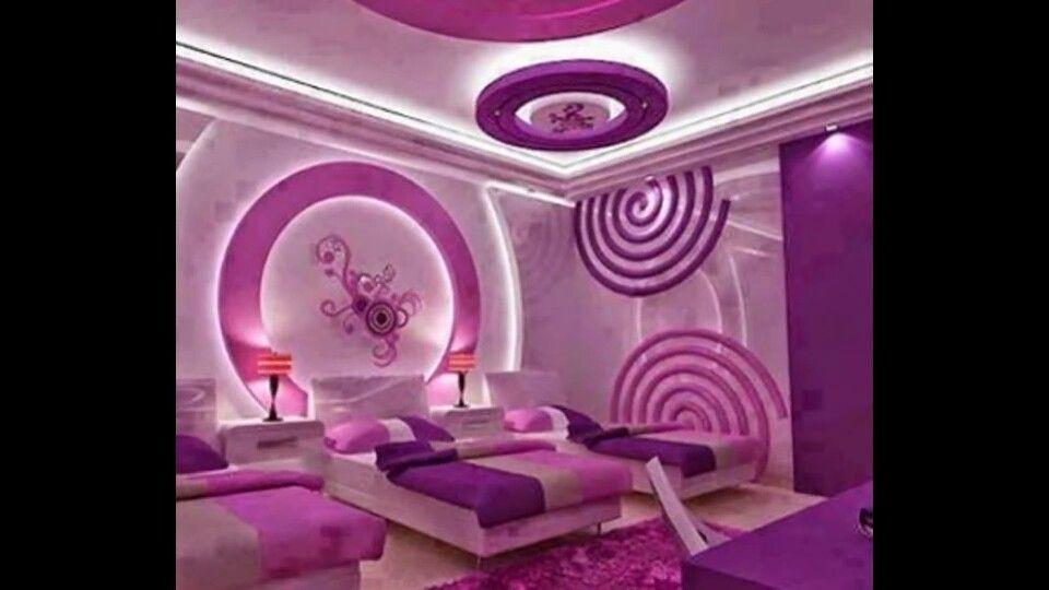 Purple Pink Bedroom