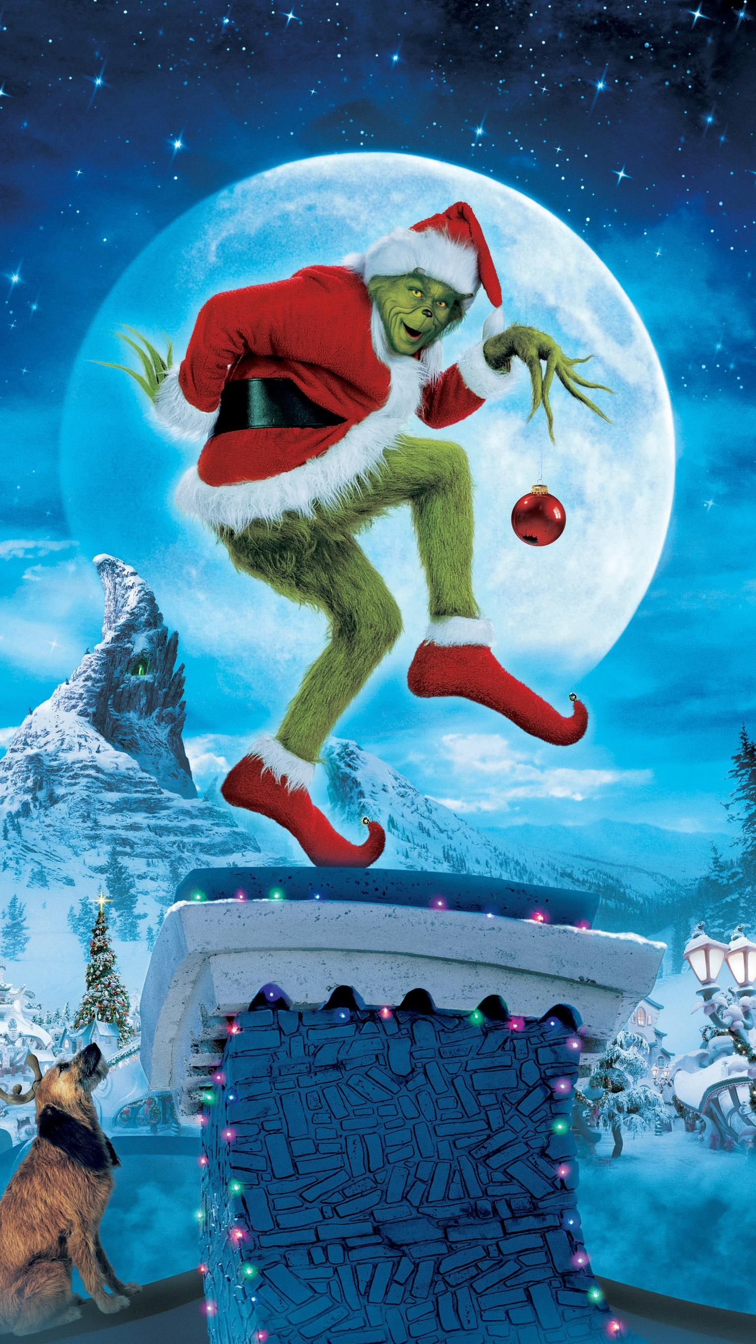 How the Grinch Stole Christmas (2000) Phone Wallpaper in