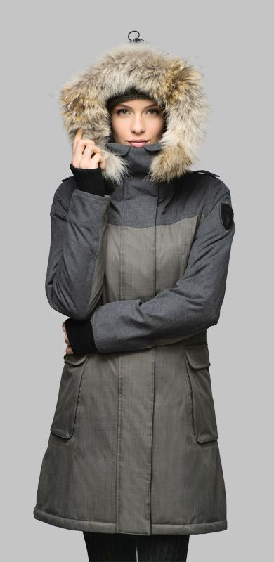 Nobis The Abby Ladies Knee Length Parka Have To Get