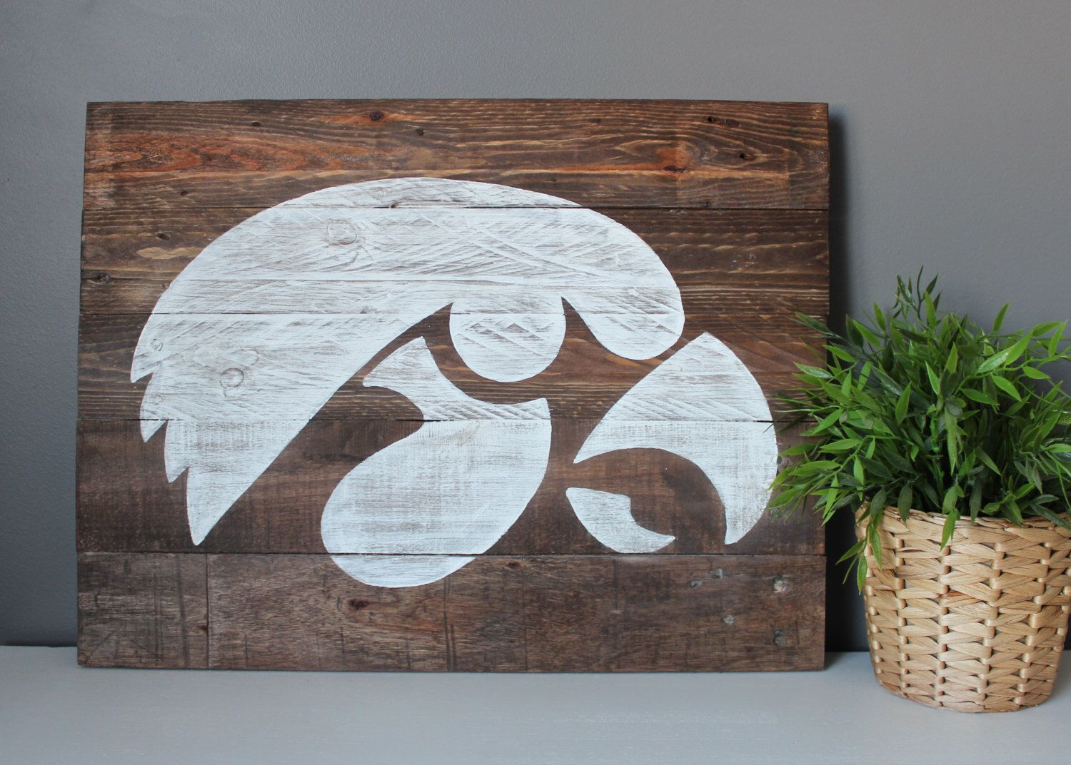 Reserved For Melissa S New House Iowa Hawkeyes Wood