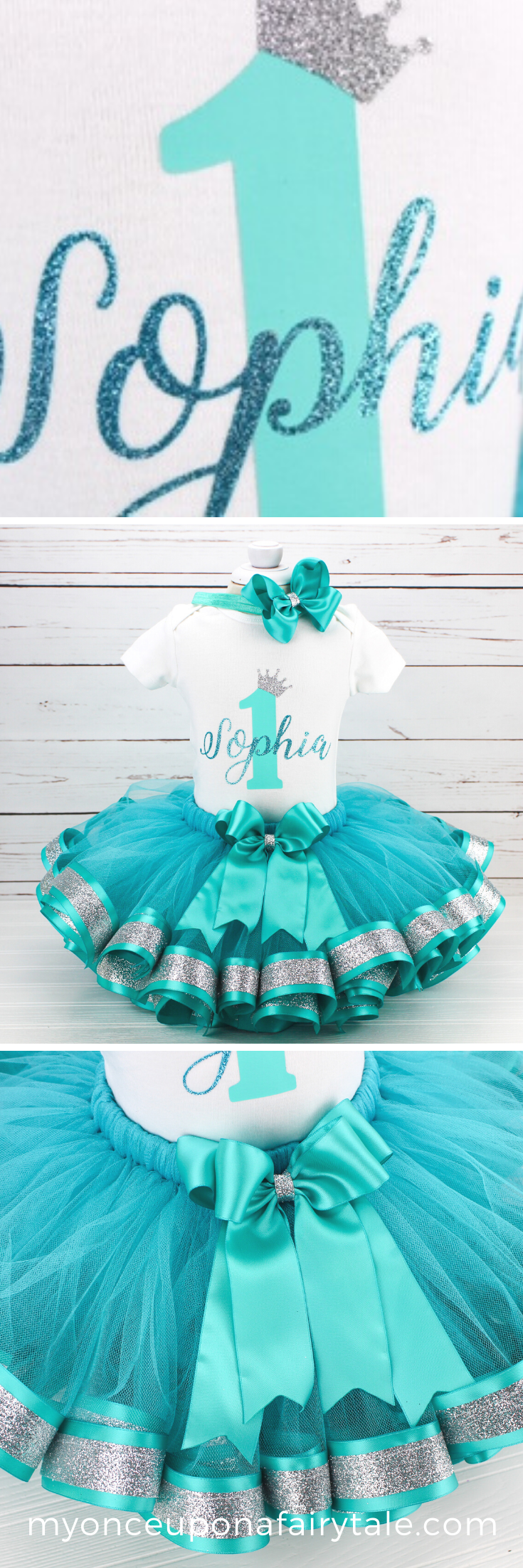 Baby Girl Tutu Dress 1st Birthday Girl First Birthday Outfit Girl Black And Aqua Blue Cake Smash Clothing Baby Girls Clothing