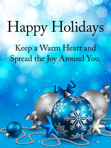 Radiate joy and love this holiday season. A thoughtful ...