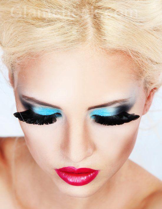 makeup for blue eyes dramatic blue eye makeup things