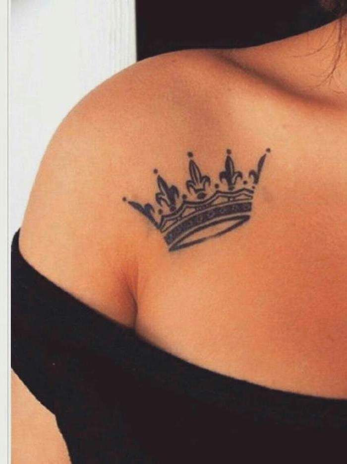 Photo of ▷ 1001 + ideas for beautiful chest tattoos for women
