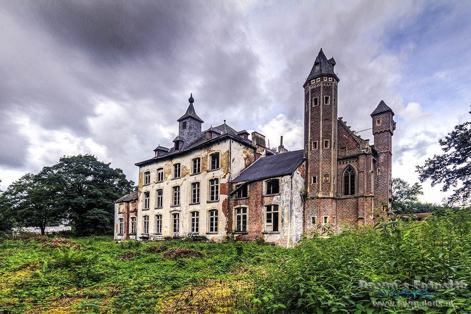 Chateau Hogemeyer,verlaten kasteel,urbex,belgë,urbexlocaties