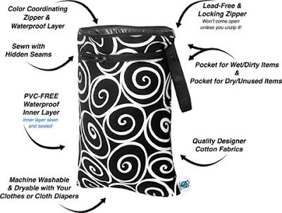This Flourishing Life: Planet Wise Wet Bag {From Nicki's Diapers} Review And Giveaway - ends 6/18