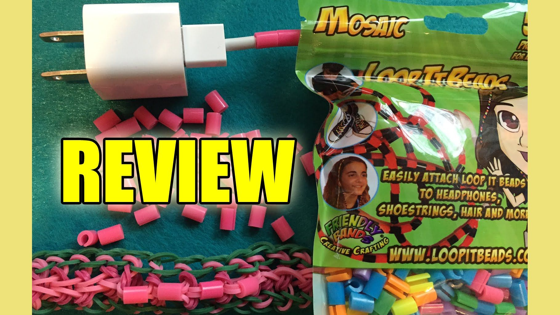 LoopItBeads | Customize your headphones, chargers, and more! | DIY Craft Supply REVIEW