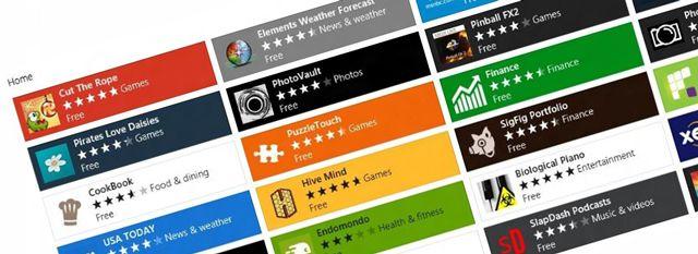 Windows Store View