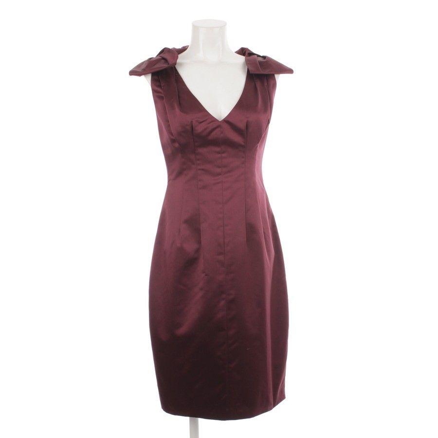 Elegantes Kleid von Prada in Rot Gr. 38 IT 44 - Wie Neu aus 100% Seide